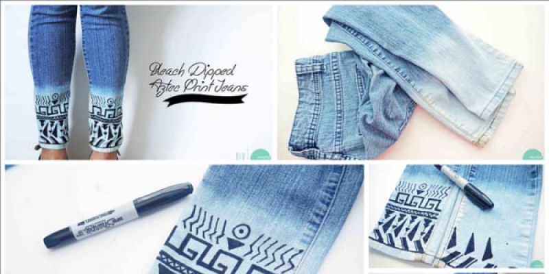 Customizar shorts con encaje - Decorar pantalones vaqueros ...