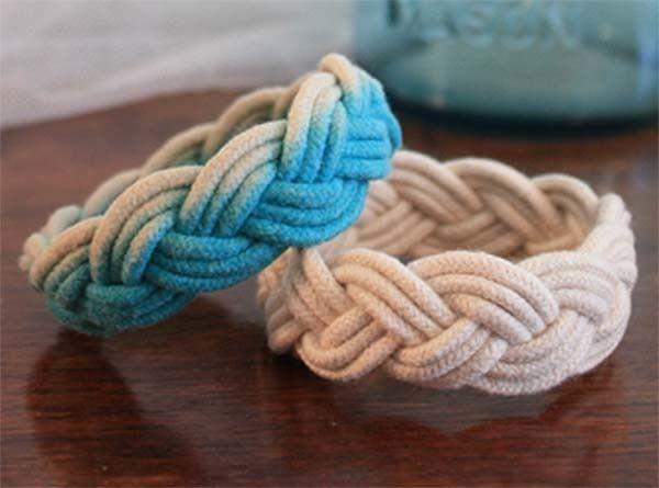 Cómo hacer pulseras con nudos marineros paso a paso .