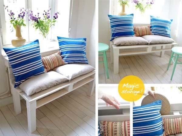 Ideas con palets paso a paso - Como hacer un sofa paso a paso ...