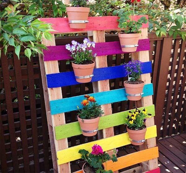 Como Hacer Jardineras Con Palets Faciles Paso A Paso - Manualidades-palets