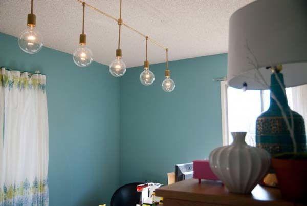 Hacer l mparas decorativas originales sin gastar un euro - Como hacer una lampara de pared ...