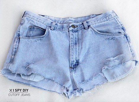 C mo hacer pantalones y short a la moda - Decorar pantalones vaqueros ...