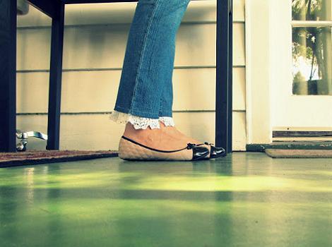 Manualidades con encaje o cintas - Decorar pantalones vaqueros ...