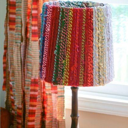 Hacer l mparas decorativas originales sin gastar un euro - Ideas para hacer lamparas ...