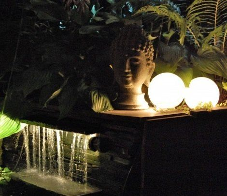 Hacer l mparas decorativas originales sin gastar un euro for Luces decorativas jardin