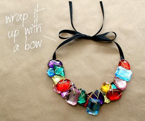 Cómo hacer un collar joya