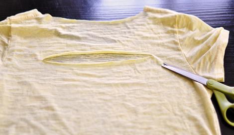 cortes camiseta