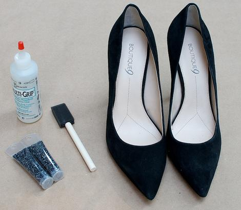 decorar zapatos con punteras
