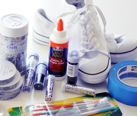decorar-zapatos-sneakers-materiales