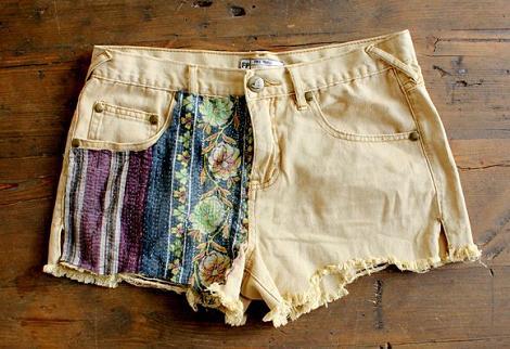 diy para customizar shorts