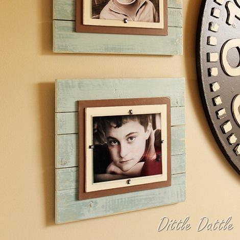 Hacer marcos de fotos Marcos fotos madera