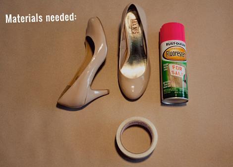 materiales-pintar-zapatos