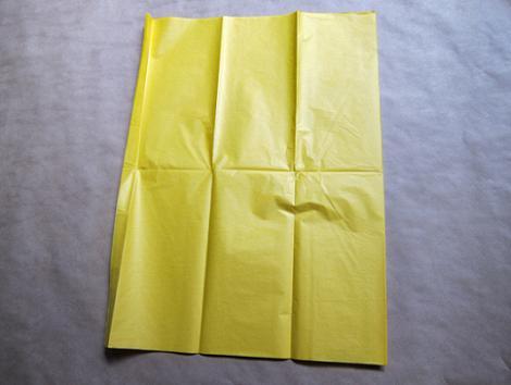 Pompones de papel paso 1