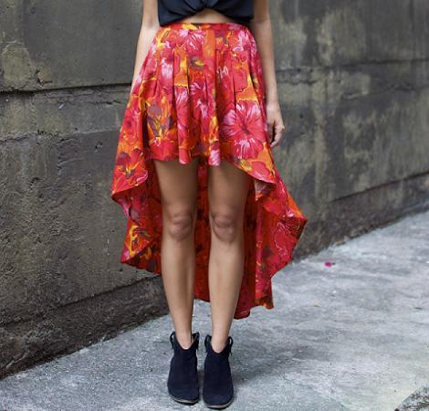 Cortar falda