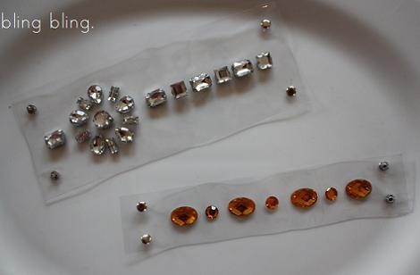 hacer pulseras transparentes con piedras