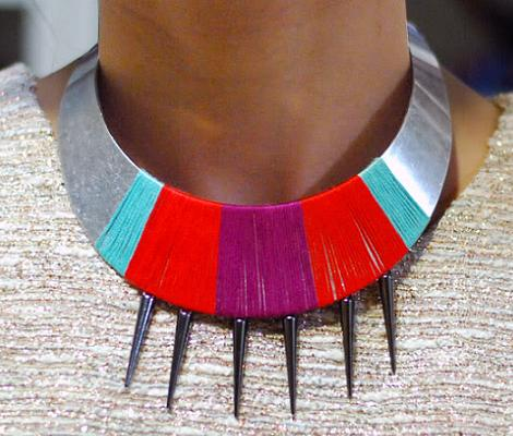 hacer un collar tribal