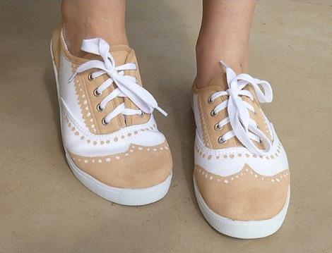 pintar-zapatillas-bicolor