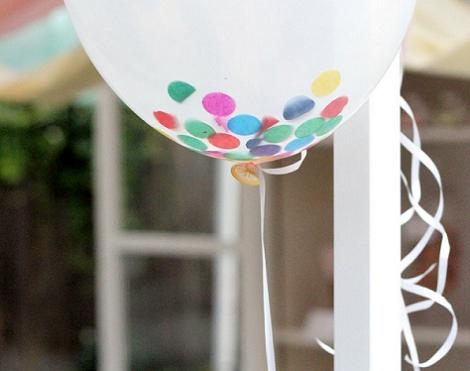 Globos confeti ideas diy for Diy decoracion cumpleanos