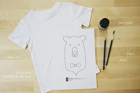 Plantillas para pintar en tela para imprimir imagui - Pintar camisetas ninos ...