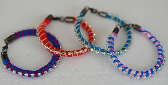 76bde73bbf06 como hacer pulseras de moda con cristales – Ideas DIY