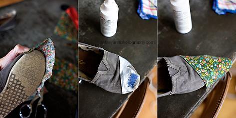 decorar-zapatos-con-tela