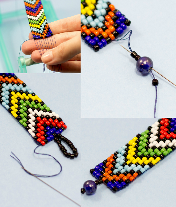 hacer pulseras de abalorios con cuenta – Ideas DIY