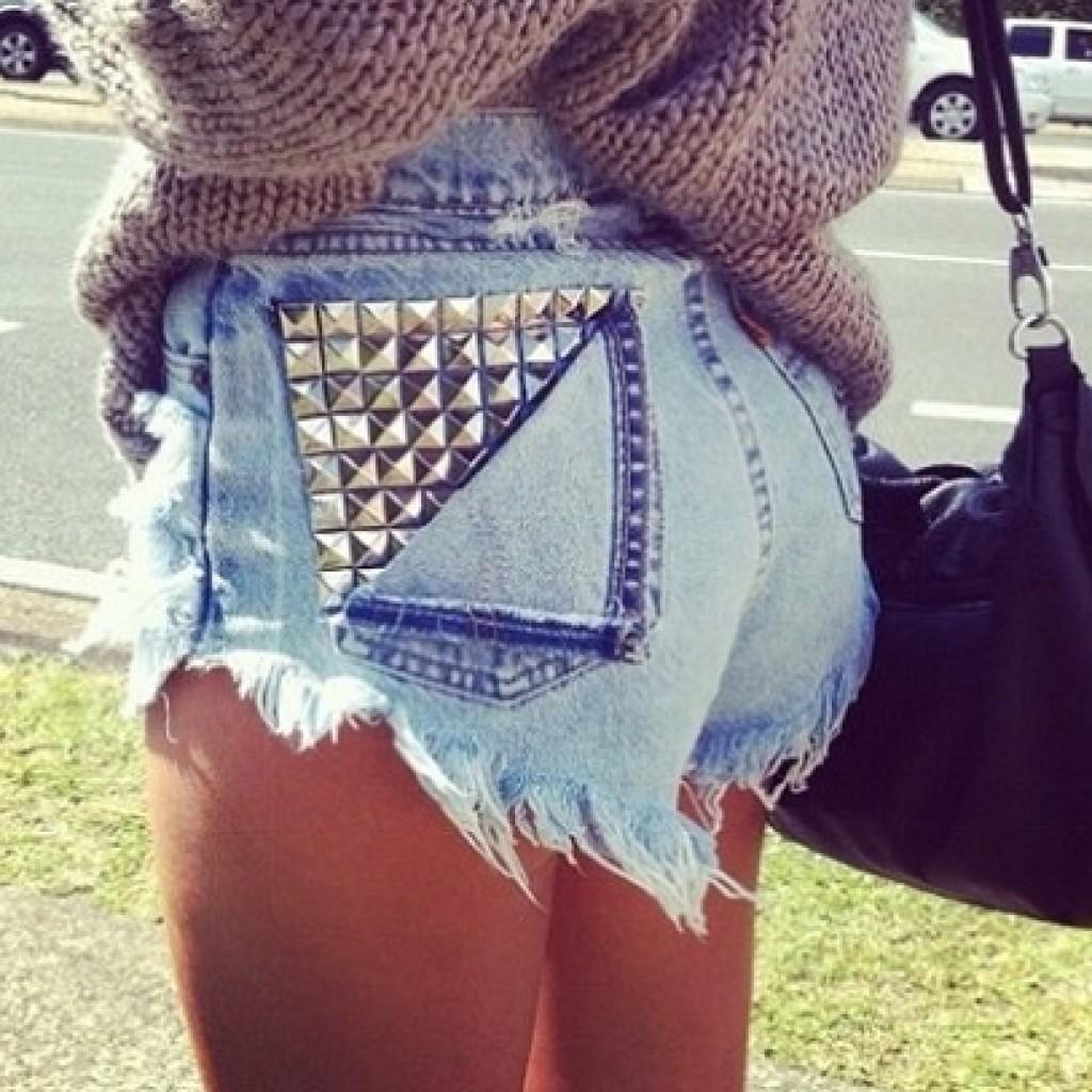 customizar-pantalones-short-tachas