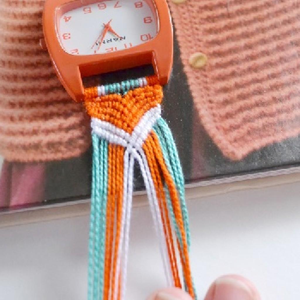 hacer-reloj-macrame-verano-trenza