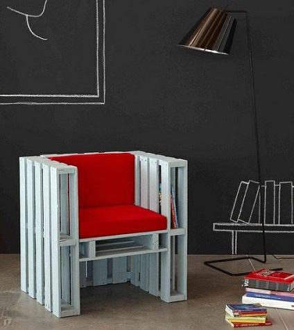 De todas las manualidades c mo hacer muebles sencillos - Como hacer muebles con palets ...