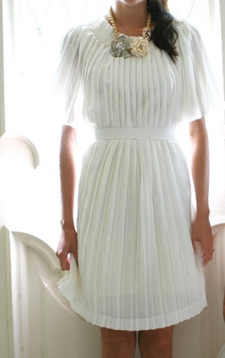 falda larga plisada vestido resultado