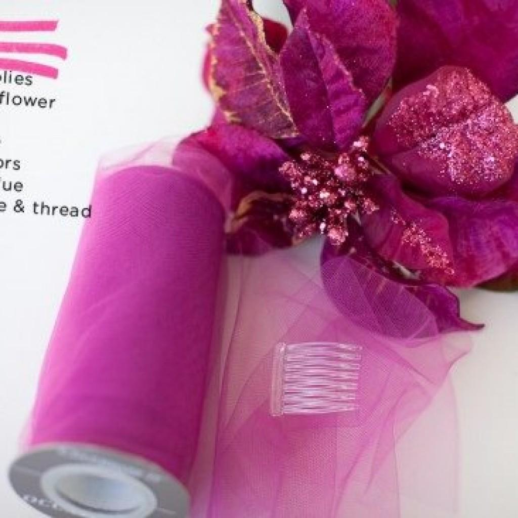 como-hacer-tocado-floral-casero-materiales