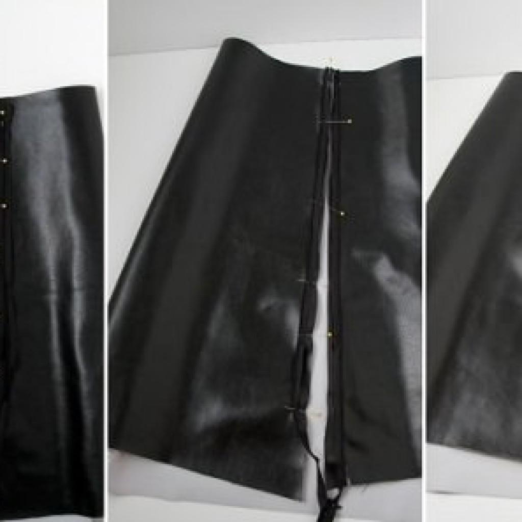 falda-tubo-piel-casera-medida