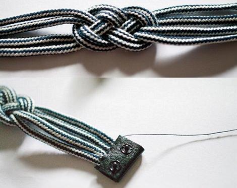 Pulsera nudo marinero paso a paso tirar ideas diy - Nudos marineros para pulseras ...