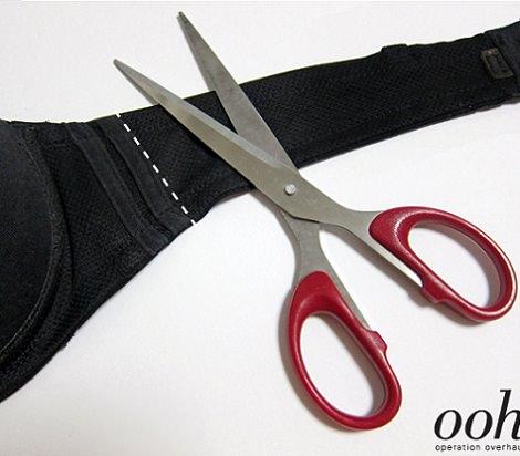 cortar sujetador