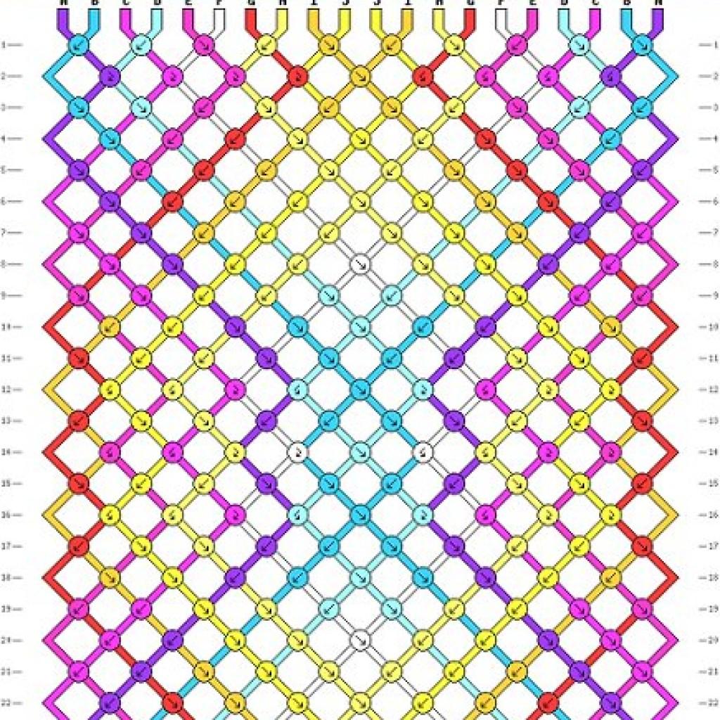 5-patrones-pulseras-hilo-macrame-cruzada