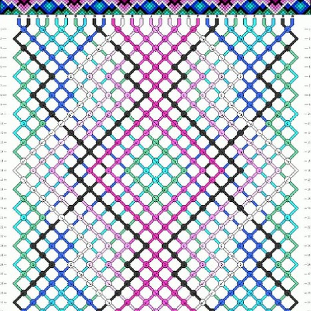 5-patrones-pulseras-hilo-macrame-rosa