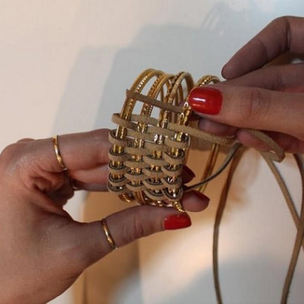 recicla-brazaletes-pulseras-cuero-trenzar