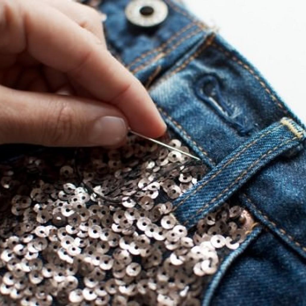 customizar-short-lentejuelas-coser