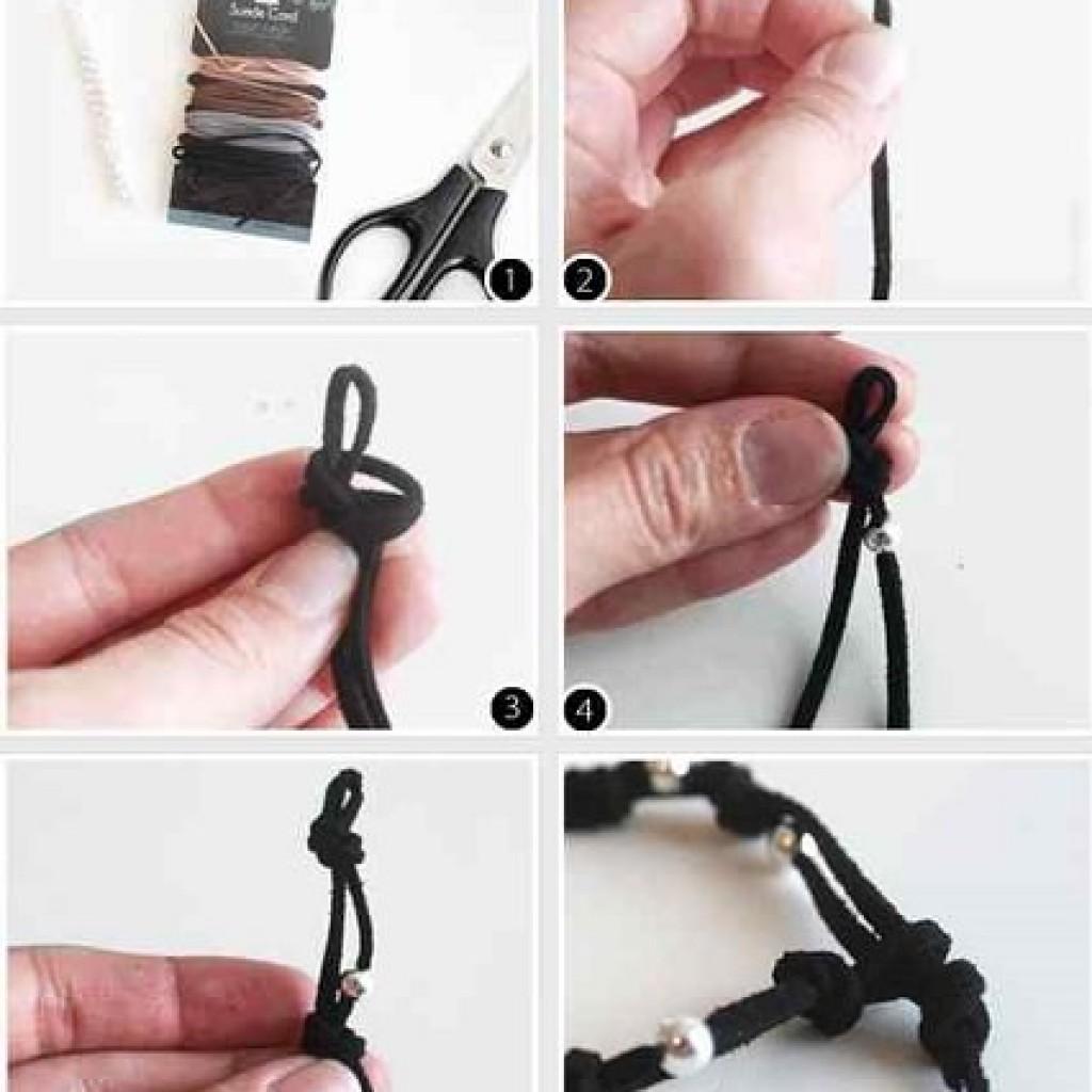 nudo-simple-pulsera