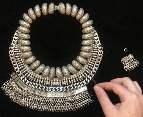collar de moda dylanlex casero