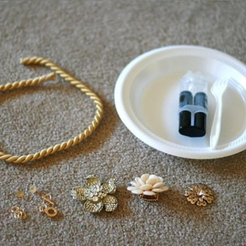 collar-reciclado-flores-diy-materiales