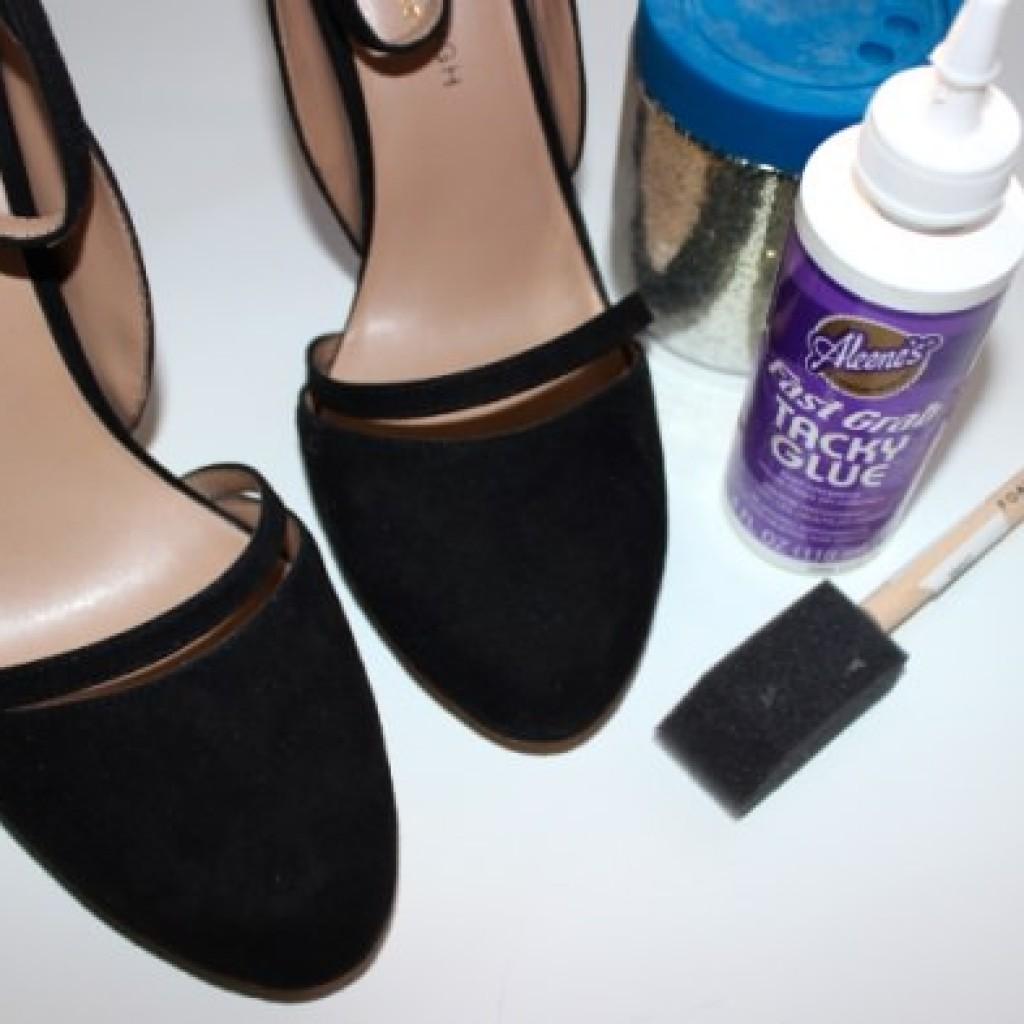 decorar-zapatos-viejos-fiesta-materiales