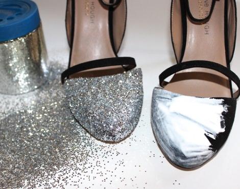 decorar zapatos viejos fiesta