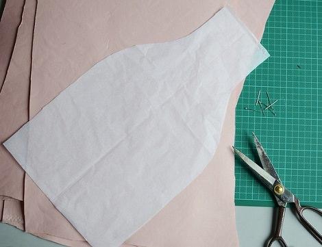 coser falda plantilla