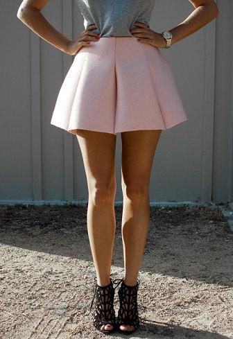 falda casera