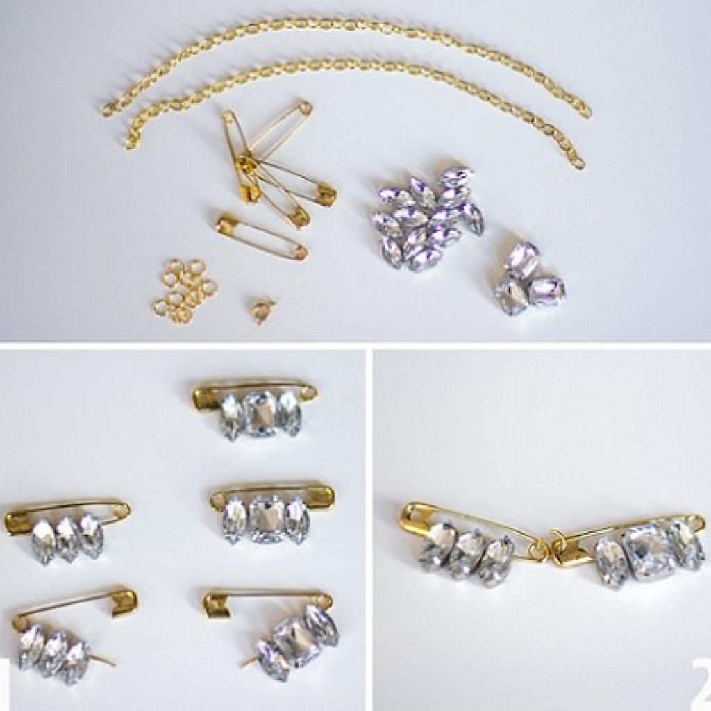 collar-joya-imperdibles-casero-materiales