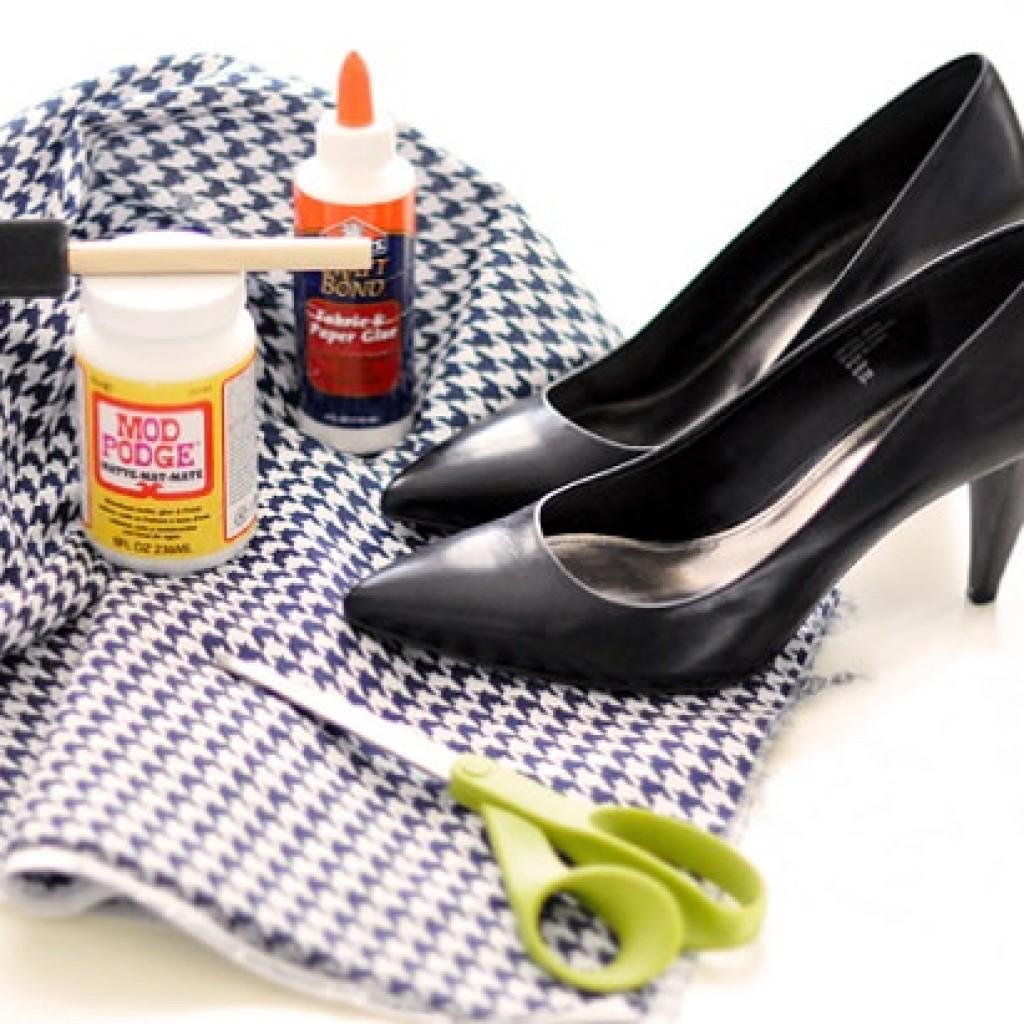 como-forrar-zapatos-materiales