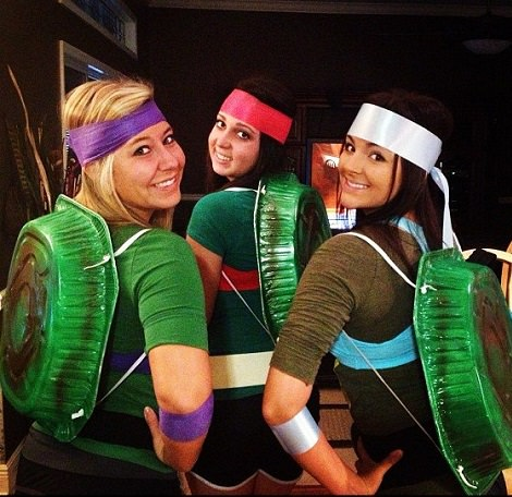 disfraz de las tortugas ninja