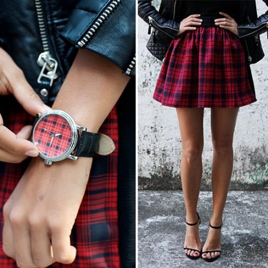 falda-cuadros-casera