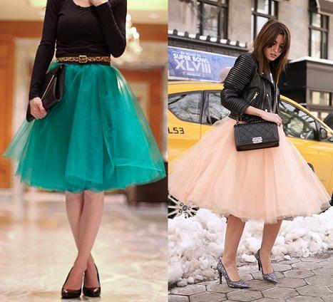 ec9948391 Cómo hacer una falda de tul con vuelo a la moda de esta primavera